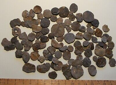 Large Group Of  Medieval 14Th Century -18Th Century Lead Tokens Circa 1300-1800