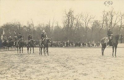 CP Lunéville French Military Horse Old PC Ritter Photo 1912' Militaria Cavalerie
