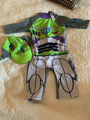 Buzz lightyear Swimsuit Age 3-4 Years Sun Protection