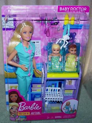 Barbie You Can Be Anything....Baby Doctor Doll New
