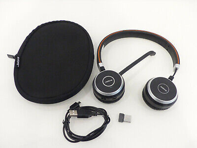 Jabra GN Evolve 65 Stereo UC & Link 370 bluetooth Headset Kopfhörer Headphone #5
