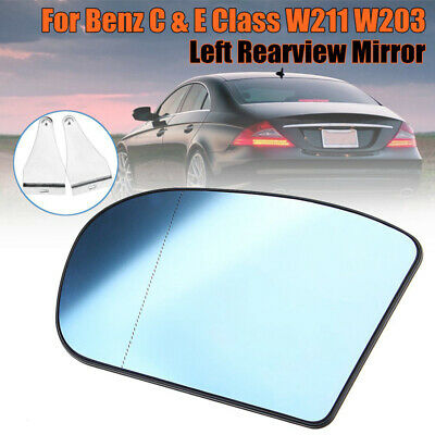Right Driver Side Wing Heated Mirror Glass For Mercedes C-Class W203 2000-2007