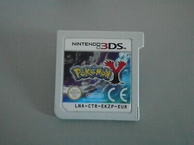 Pokemon Y  game cart for  Nintendo 3DS 2DS