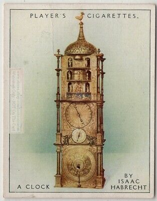 1589 Carillon Clock By Isaac Habrecht For Pope Sextus V 1920s Ad Trade Card
