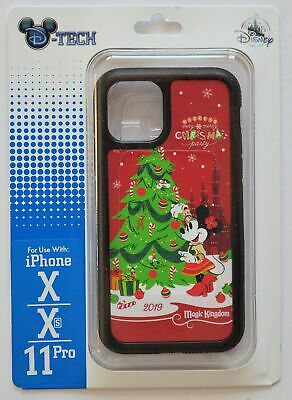 Disney Parks Mickey's Very Merry Christmas Party X/XS/11 Pro Phone Case NWT