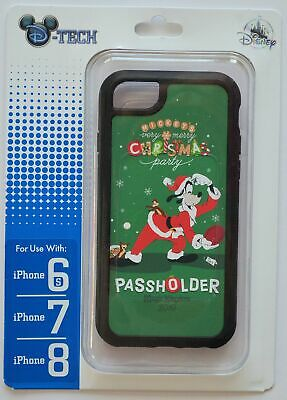 Disney Park Mickey's Very Merry Christmas Party Passholder 6s/7/8 Phone Case NWT