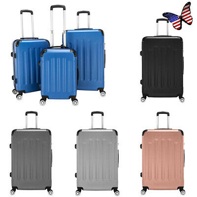 """3-in-1 Portable Trolley Case Luggage Dustproof Durable Suitcase 20"""" / 24"""" / 28"""""""