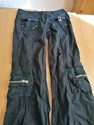 Girls Black New Look 915 Trousers - Size  13 Years