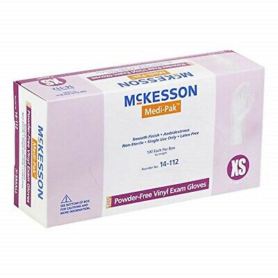 X-Small Vinyl Gloves, 1000/Case