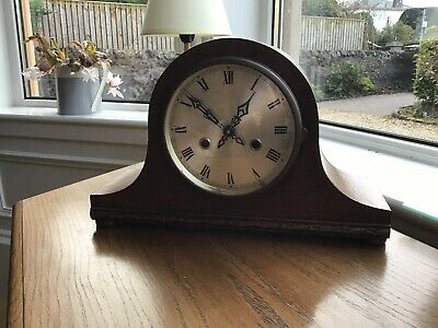 """Nelson Hat"" Vintage Smith Enfield 1950's Striking Mantel Clock (GWO)"