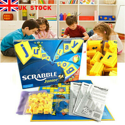 Family Gathering Game Junior Version Scrabble Board Game Funny Toys Xmas Gift UK