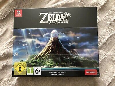 The Legend of Zelda Link's Awakening Limited Edition Nintendo Switch NEW SEALED