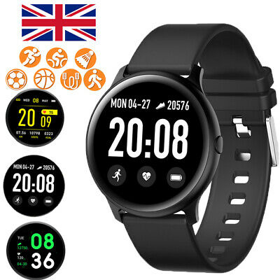 Smart Watch Fitness Tracker Waterproof IP67 Heart Rate For Android iPhone HUAWEI