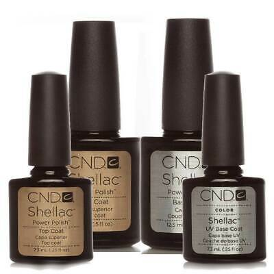 CND Shellac Base coat + Top coat Super Qualität Top Gellack Gel Polish UV Nail