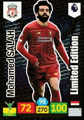 Panini Premier League Adrenalyn Xl 2019/20 Limited Edition Salah Mint