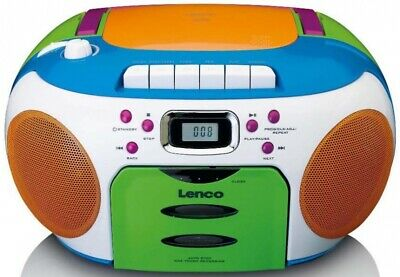 Lenco Radio/CD/Kassetten-Player SCD-971 Kids Radios-Recorder