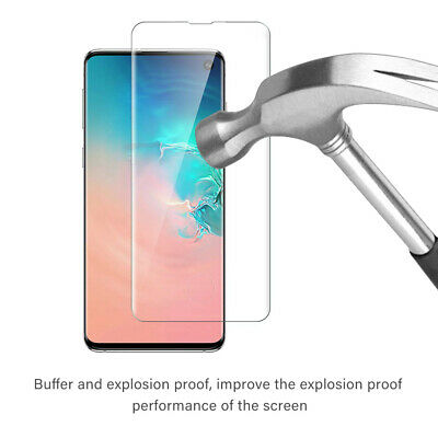 3x Sumsang Galaxy S8 S9 S10 Tempered Glass Full Curved Screen Protector Clear
