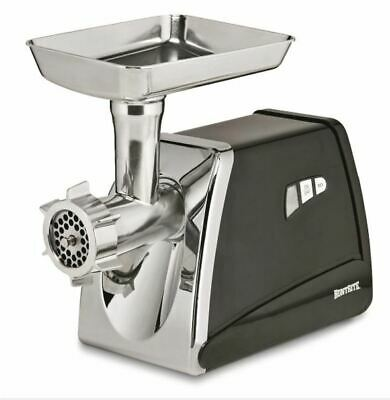 0.75 Hp Electric Meat Grinder Stainless Steel Sausage Stuffing Plate Kitchen