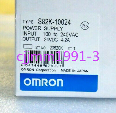 1PCS New in box Omron Power Supply S82K-10024 4.2A 24VDC