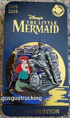 New Disney Parks Pin (Little Mermaid 30th Anniversary AP Exclusive Ariel Eric)