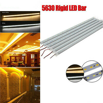 5pcs 5630 SMD Hard Innenraum Tube LED Strip Light Licht 20-50cm DC 12V Lampe DE