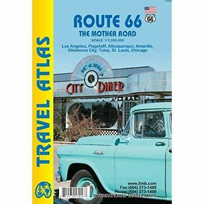 Route 66 The Mother Road atlas itm - Map NEW International T 2015-04-13
