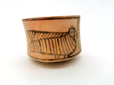 Ancient Indus Valley Terracotta Vessel With Bird Motif  - R366