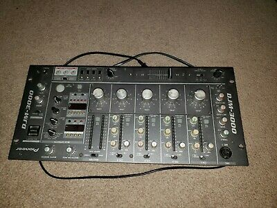 PIONEER DJM-3000 DJ Mixer Rotary Fader Type, NEVER used in clubs or home use!!!!