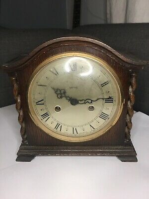 Antique Smiths Chiming Mantle Clock in full working order.
