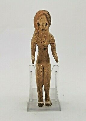 Ancient Indus Valley Civilization Terracotta Seating Fertility Idol R242