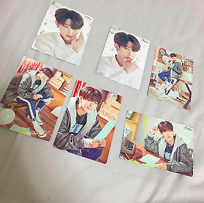 "Stray Kids UNVEIL TOUR ""I am in japan"" Changbin card photocard 6 set complete"