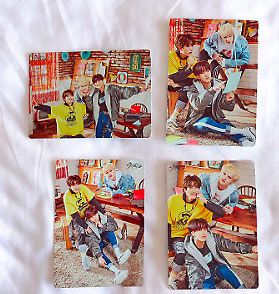 "Stray Kids UNVEIL TOUR ""I am in japan"" 3racha photocard 4 set unit complete"