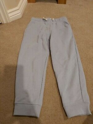 Girls Next blue jogging bottoms age 7 years