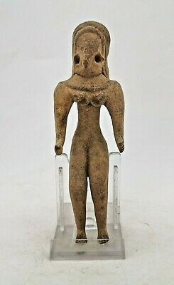 Ancient Indus Valley Civilization Terracotta Seating Fertility Idol R271