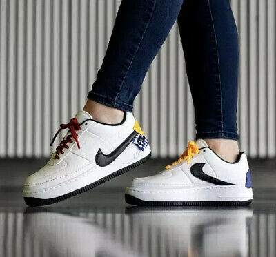NIKE AIR FORCE 1 Af1 Jester Xx Se Trainers At2497 100 White