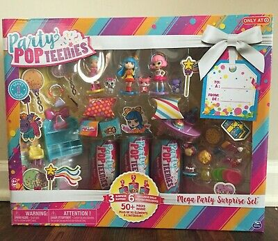 Party PopTeenies Mega Party Surprise Set Brand New