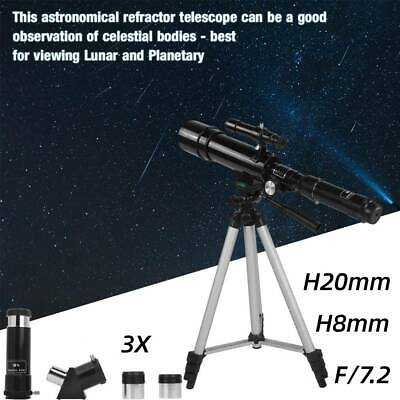 Childrens Telescope With Tripod Science Astronomy Refractor Kids Beginners Gifts