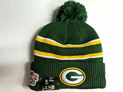 Green Bay Packers Knit Hat New Era 2019 On Field Thanksgiving Day Cap NFL