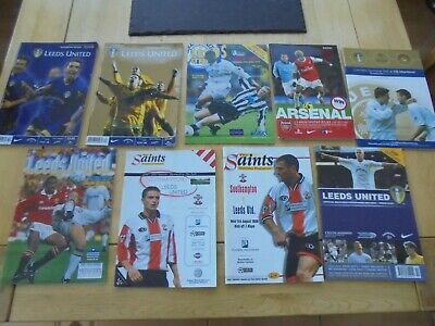 Leeds United 9 Home & Away Programme Bundle 1992 - 2011  All Listed