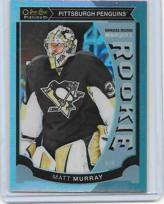 2015-16 OPC O-Pee-Chee Platinum Matt Murray Marquee Rainbow Rookie card #M29