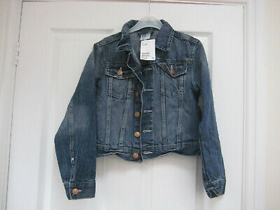 A Great Girls H&M Denim Jacket age 8-9 Years, Brand new with tags