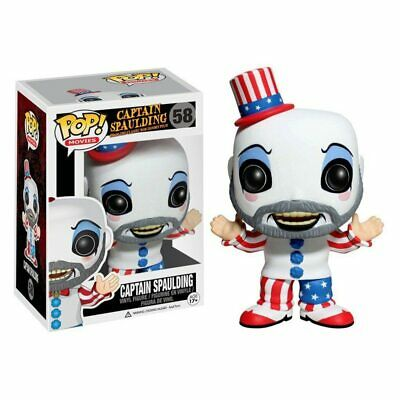 Funkoo pop Captain Spaulding Action Figure Anime Model Pvc Collection kids Toys