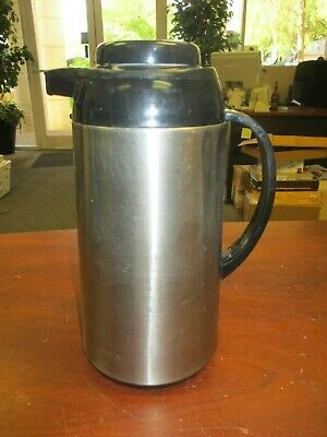 Used Thermal Hot/Cold Black & Chrome Beverage Dispenser