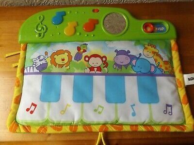 Bruin Musical Cot Bumper With Lights And Animal Sounds.