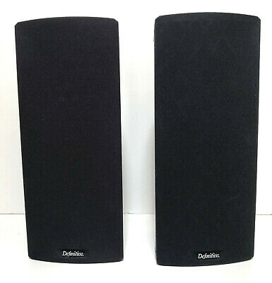 Pair of Definitive Technology Mythos Gem Speakers NICE FAST SHIPPING