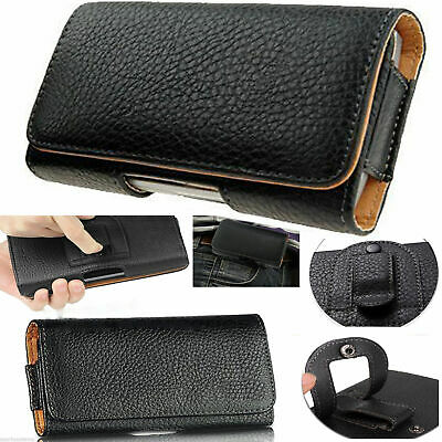 Universal Belt Pouch Clip Hip Loop Case for Mobile Phone Cover PU Leather Wallet
