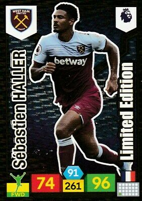 Panini Premier League Adrenalyn Xl 2019/20 Limited Edition Haller Mint