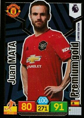 Panini Premier League Adrenalyn Xl 2019/20 Limited Edition Mata Mint