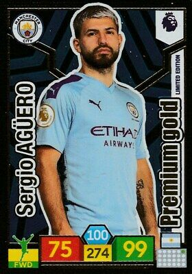 Panini Premier League Adrenalyn Xl 2019/20 Limited Edition Aguero Mint