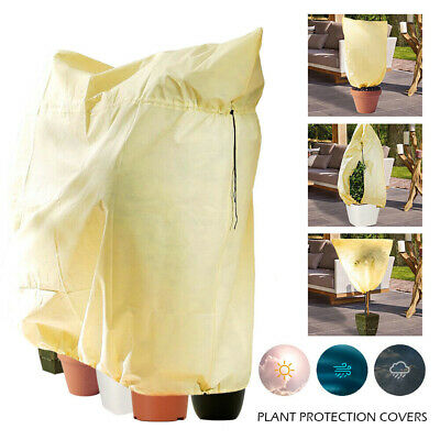 Warming Plant Fleece Protection Jacket Covers Tree Frost Protector Garden Shrub